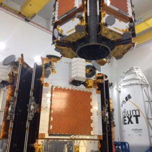 Příprava satelitů
