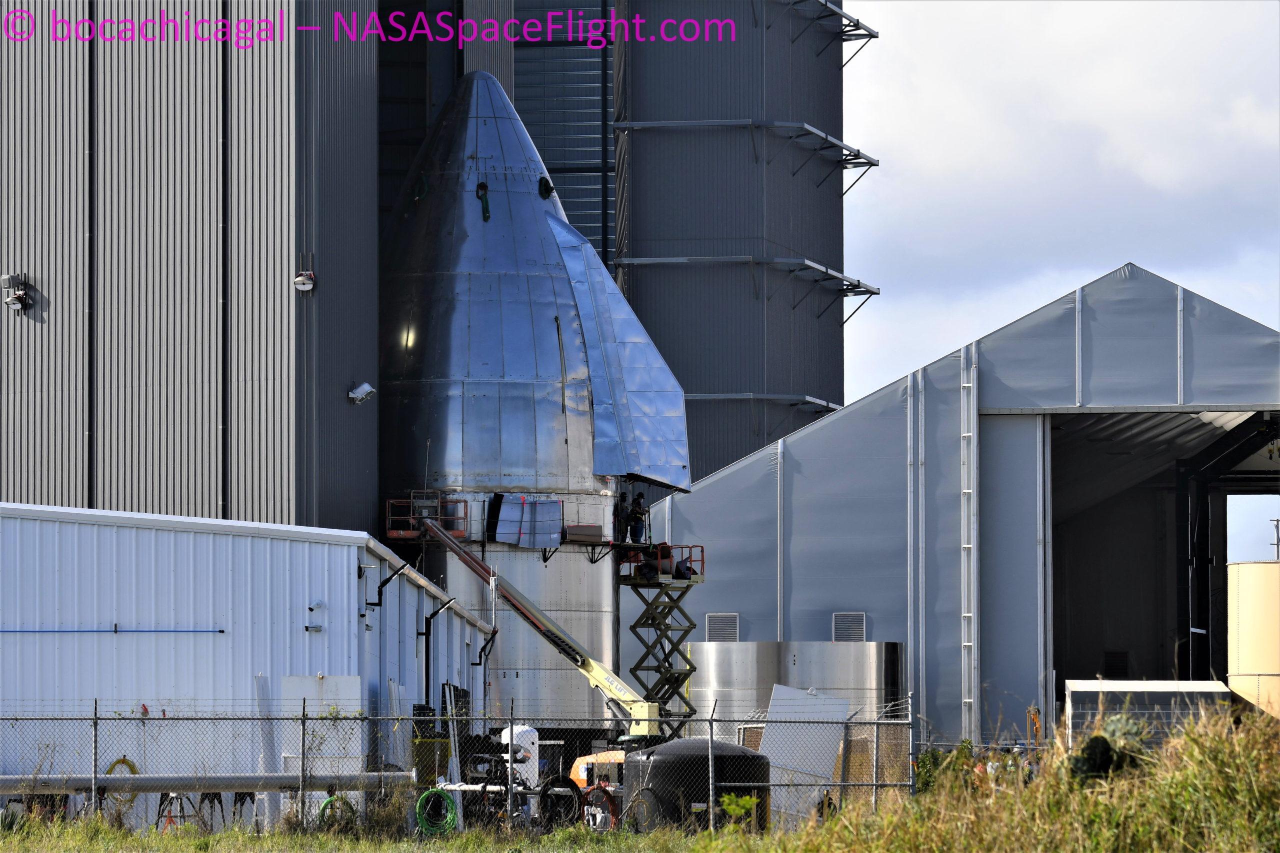 Prototypy Starship a SH - ElonX